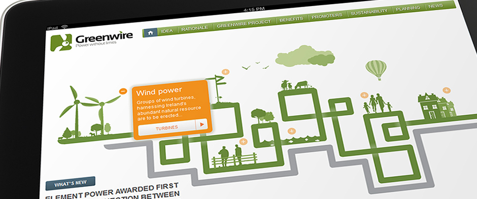 Greenwire homepage